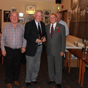 Cranleigh Bowls Club Presentation Night 2016