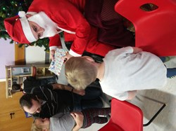 Melrose Community Association Popley Little People Christmas party 18