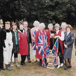 1995. Victory Fete on 50th Anniversary of VE & VJ Day.