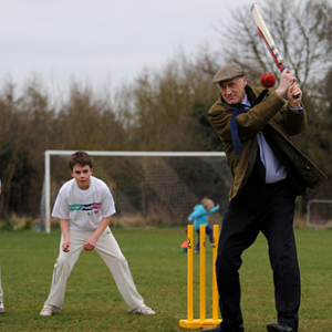 Cricket at Overton Recreation Centre