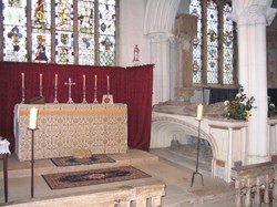 Altar and Barton Tomb