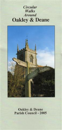 Front cover of Walks leaflet