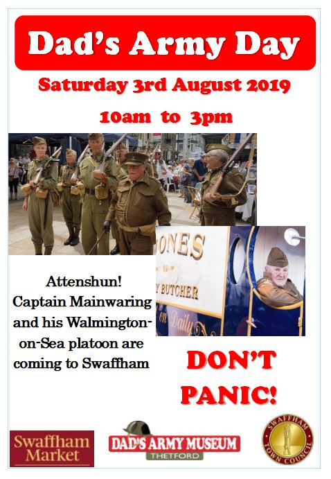 Swaffham Town Council 2019 Dad's Army Day