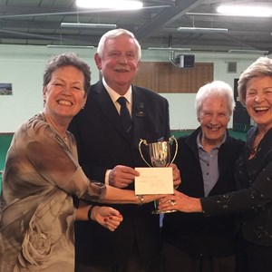 Slade Indoor Bowls Club Club Presentations 2019