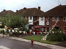 1977 Jubilee decorations
