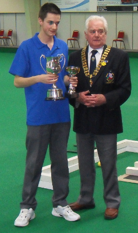 Ed Elmore - National Under 18s Singles Champion 2011 & 2012 - History was made (Click Image for more press release)