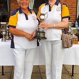 Pairs Runners Up S.Cotton, D.Jones