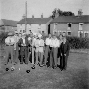 The Club green as it was in the 1950s when at the junction of College Road and Brook Street