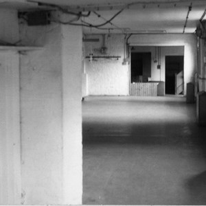 Members' Room (looking towards reception) prior to conversion