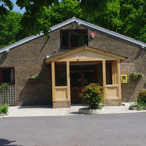 Medstead Village Hall entrance