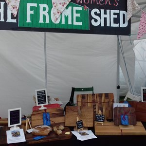 Frome Women's Shed at the Cheese Show