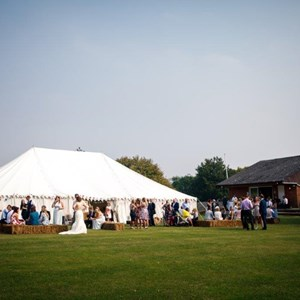 Marquee for a Wedding Reception