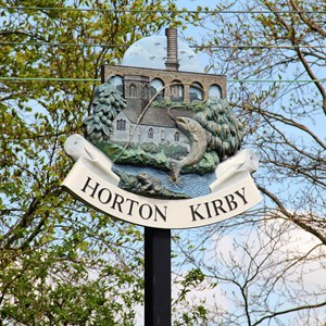 Horton Kirby Village Sign