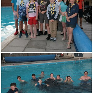 Explorer Scouts  Boating Evening