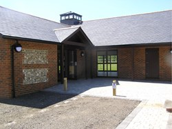 Community Hall entrance