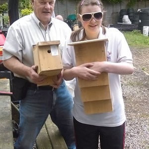 Bird & Bat Box making with Critchill School and Frome Town Council