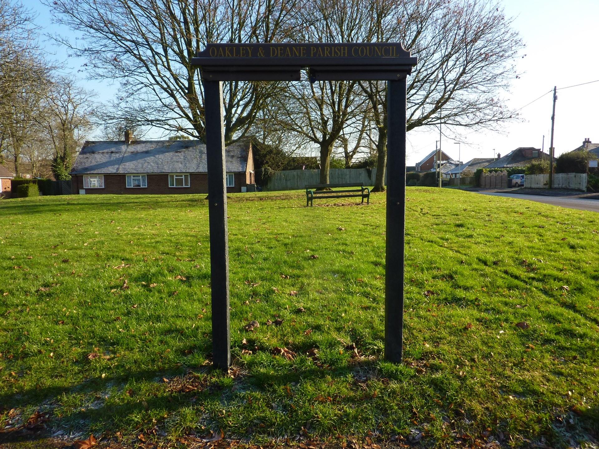a2899d4f406 Notice Boards - Oakley   Deane Parish Council - Oakley   Deane ...