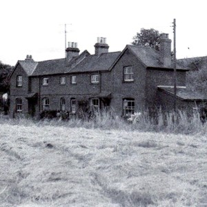 Railway Cottages, Pack Lane (near Battledown Bridge)