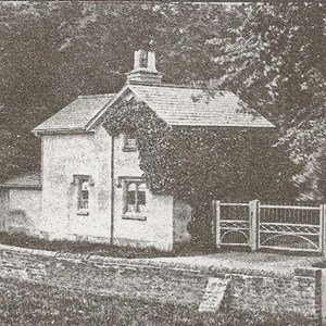 Gatehouse Bleasby Hall c 1880