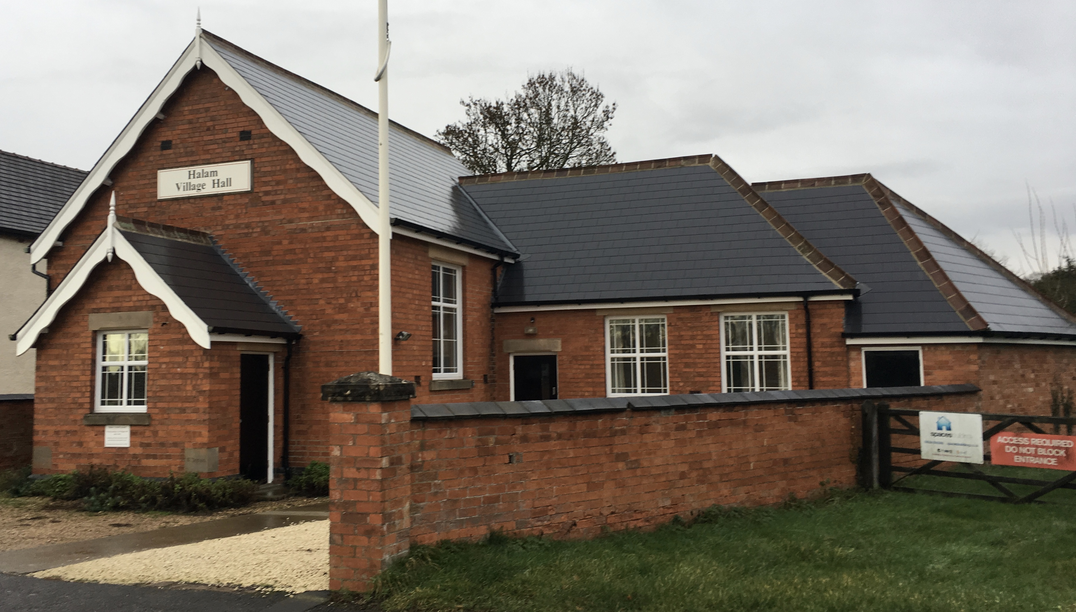 Halam, Nottinghamshire Hire Our Village Hall