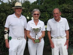 Bovey Tracey Bowling Club A.C.W Cann Cup Winners