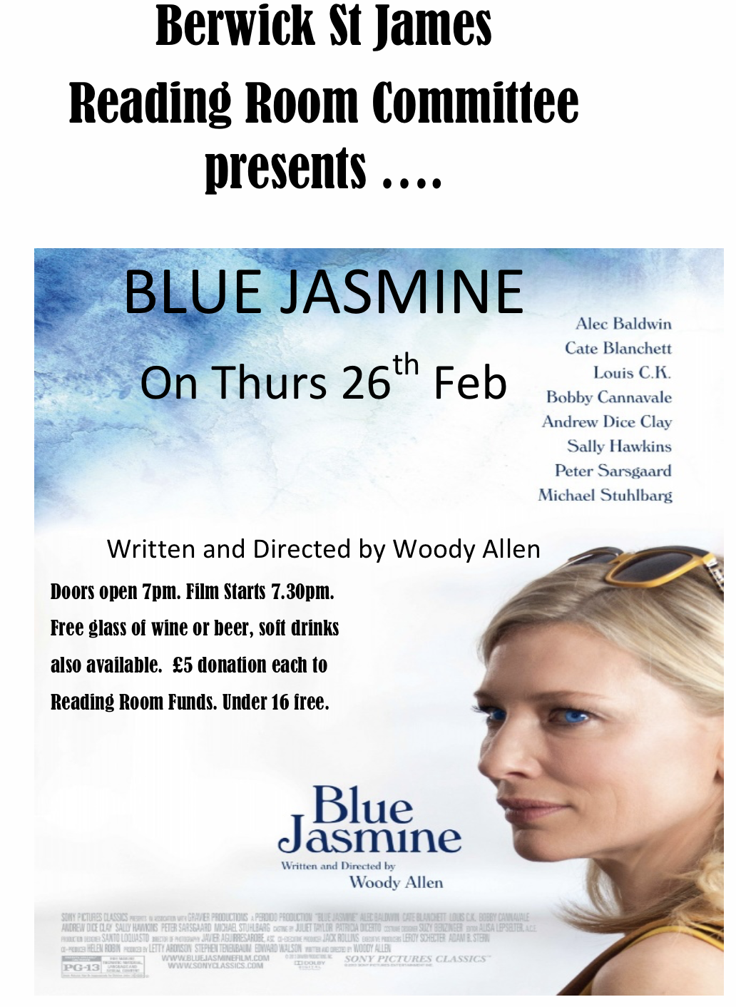 Berwick St James Parish Blue Jasmine
