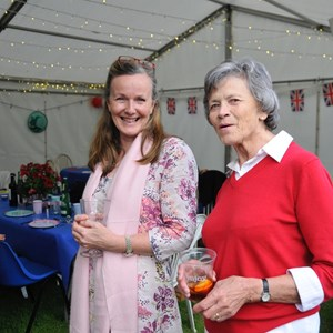 Berwick St James Parish Queen's 90th Birthday Party 2016