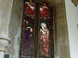 Thomas Letts Berry (KIA March 13th 1915) Memorial Window