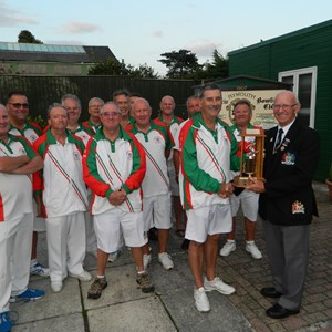 2019 Farley Trophy winners North Down