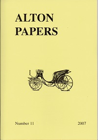 Alton Papers Alton Papers, no. 11