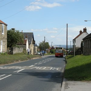 Swinton, Looking East Towards Broughton
