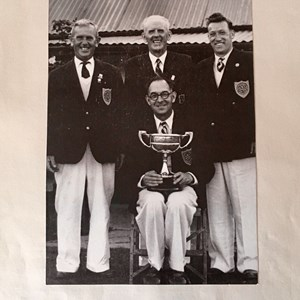 Exonia Victory Cup winners 1960