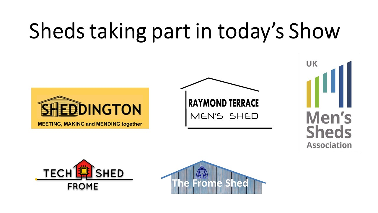 'Shed Happens' - Even if you're self isolating #10-7 23rd December 2020(UK Shed Show)