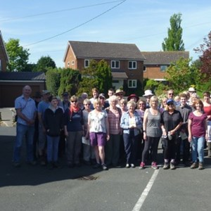Charity Benchwalk, Little Wenlock Parish Council