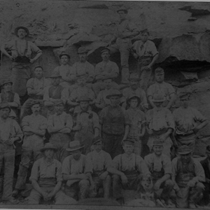 Salterforth Quarry Workers