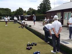 More confidence as the club opens and members get ready for pairs