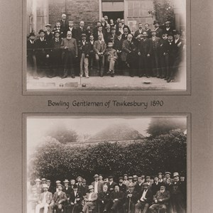 1890 & 95. Gentlemen of Tewkesbury.