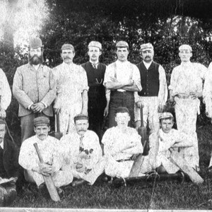 Clipston Cricket Team 1900  Alexander Pegram far right