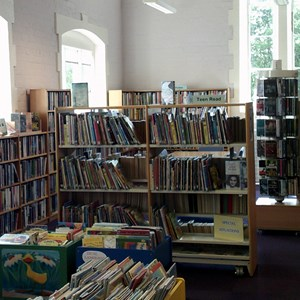 Broseley Library. credit: Esther Cartwright