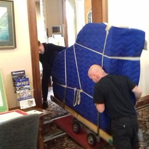 New Yamaha Piano:Delivery day 8th September 2017