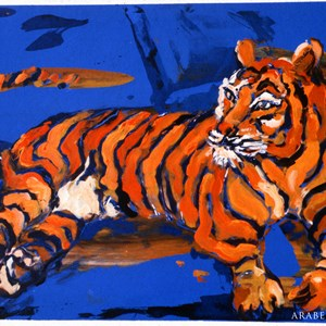 Tiger No: 1 Sold  £150.00