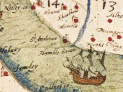 Late 1500s Map