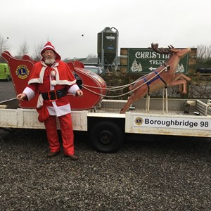 Boroughbridge Lions Santa's Sleigh