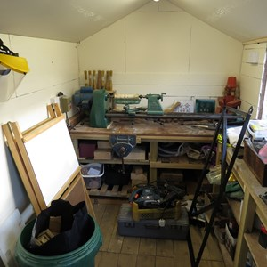 Lathe in Shed2