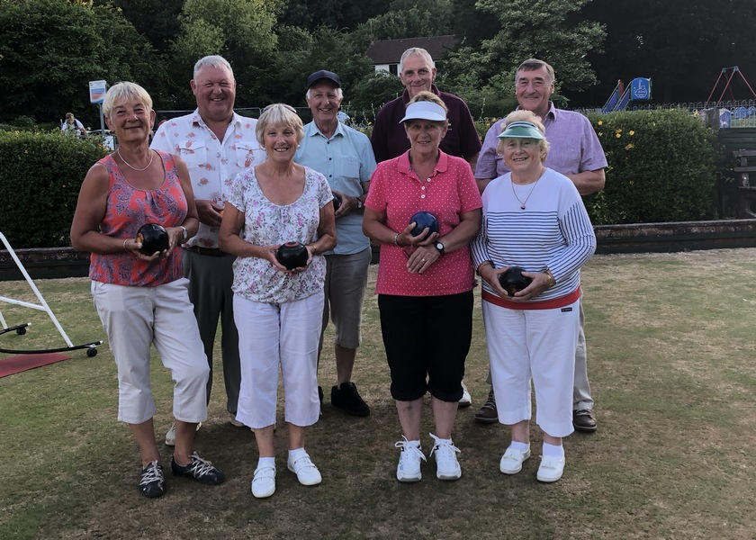 Tiverton West End Bowling Club Open evening 29th June 2018