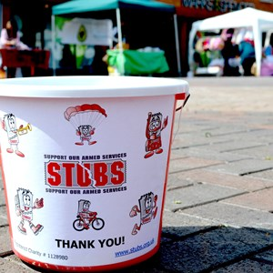 STUBS Fundraising Bucket