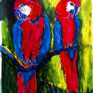 Macaws No: 5 Sold £150.00