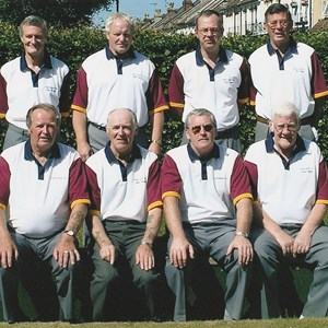 2004. New club shirts. At Bristol St George.