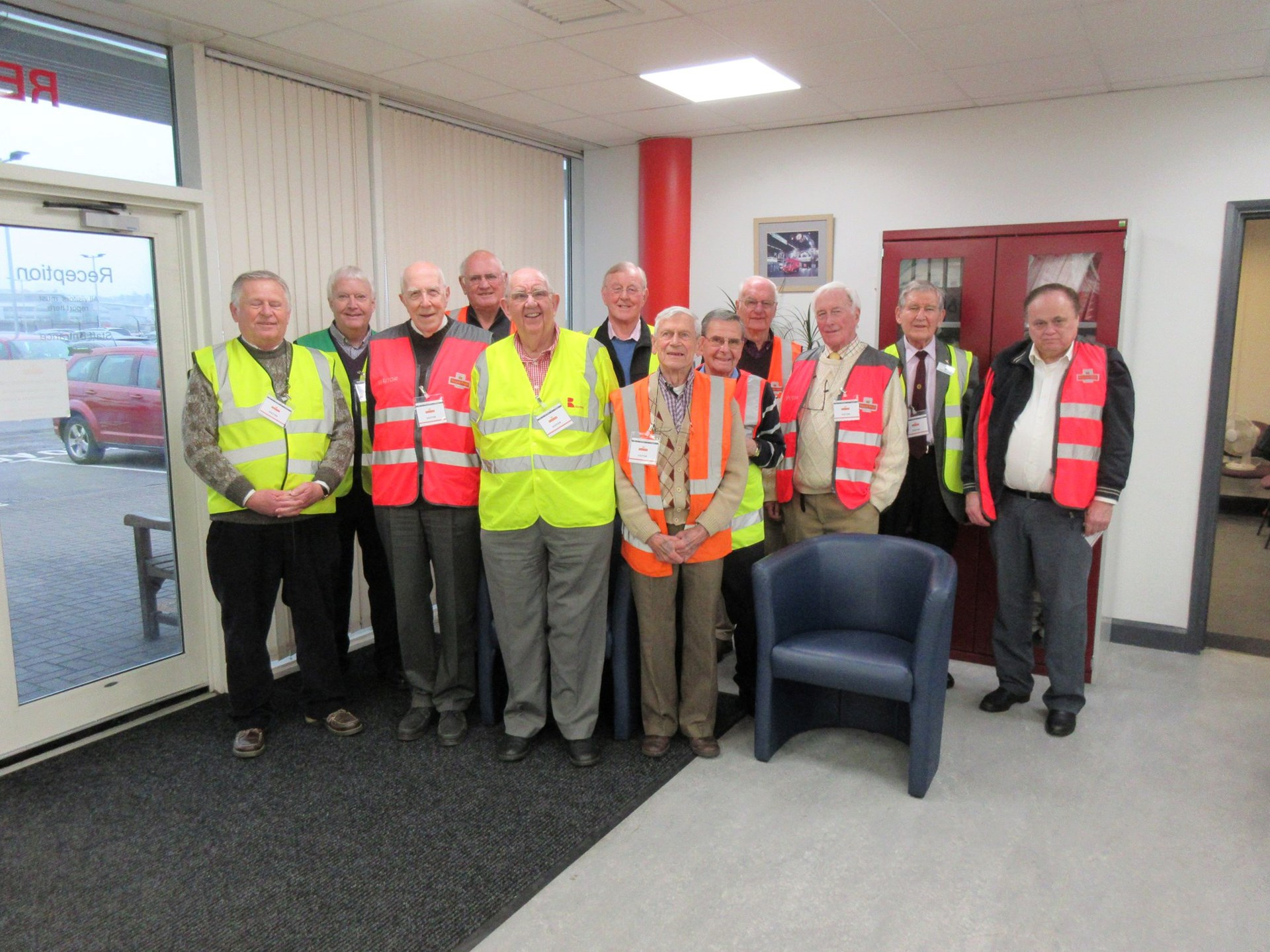 Police HQ visit · Royal Mail Filton visit ...