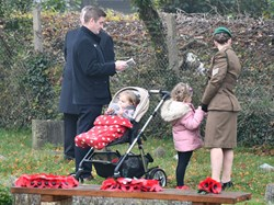 Oakley Community Association Remembrance Day 8 Nov 2020